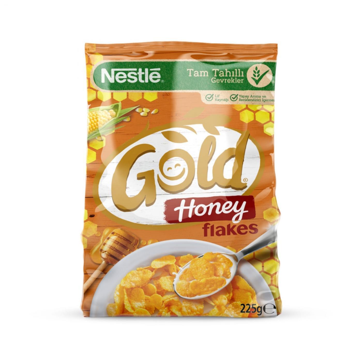 NESTLE GOLD CORN FLAKES HONEY 225GR