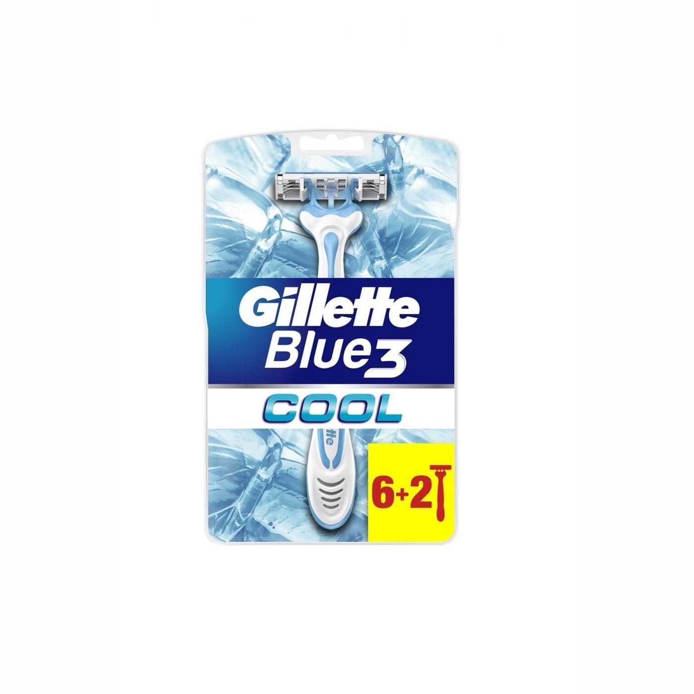 GİLLETTE BLUE3 6+2Lİ BIÇAK COOL