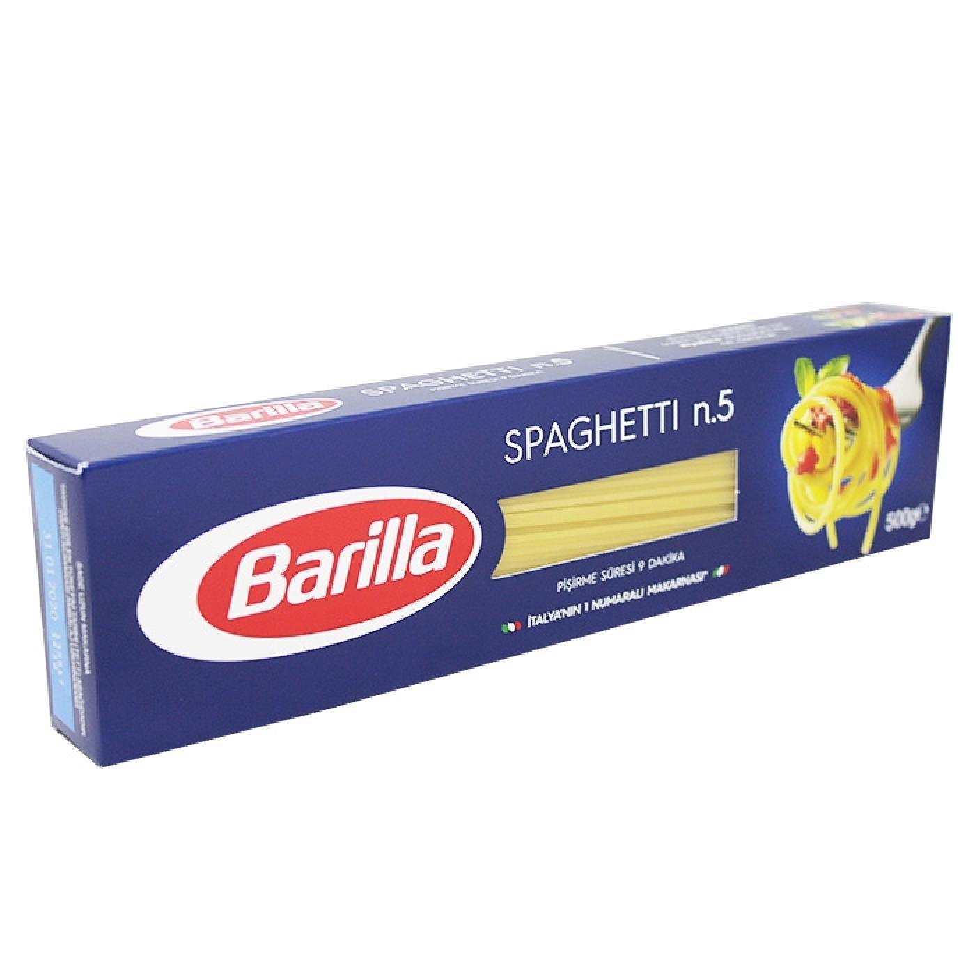 BARİLLA MAKARNA 500GR İNCE SPAGETTİ