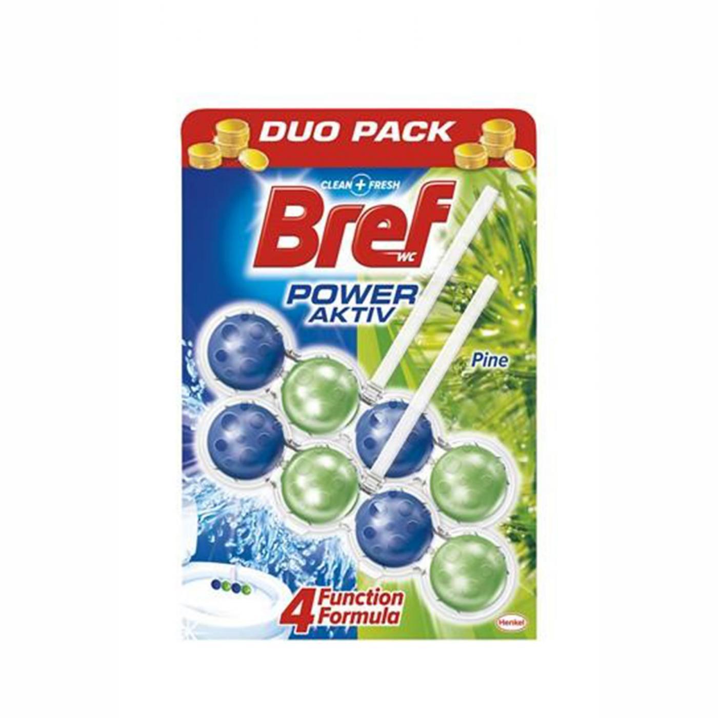 BREF POWER AKTİF 2*50GR DUO PACK 8Lİ ÇAM
