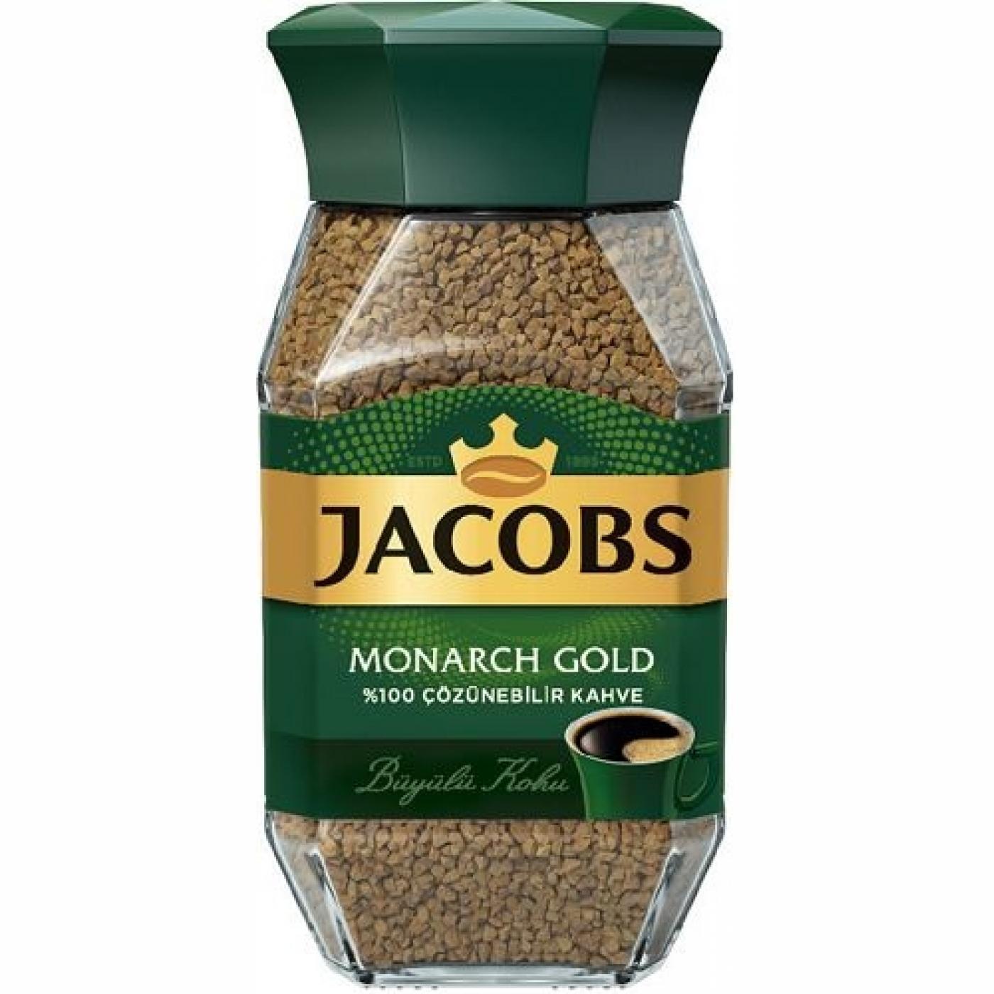 JACOBS MONARCH GOLD KAVANOZ 100GR