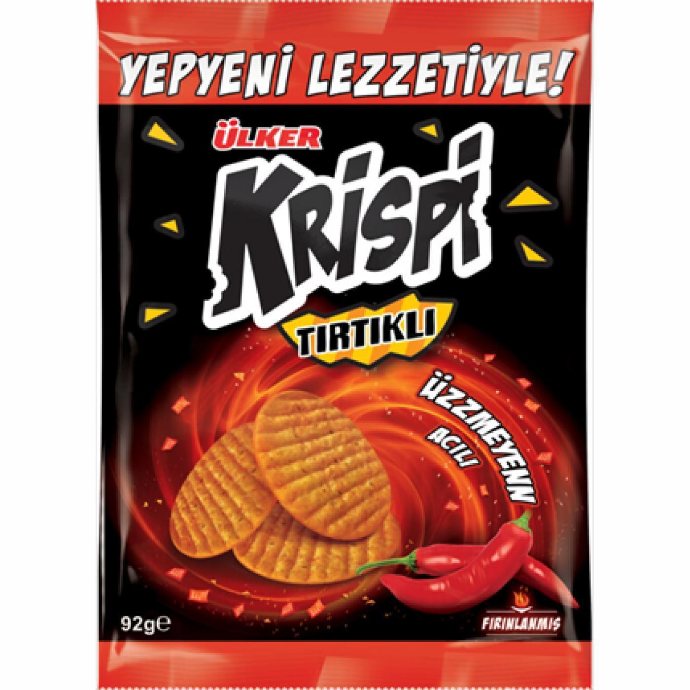 ÜLKER KRİSPİ 89GR ACILI ÇUBUK KRAKER (1088-05)