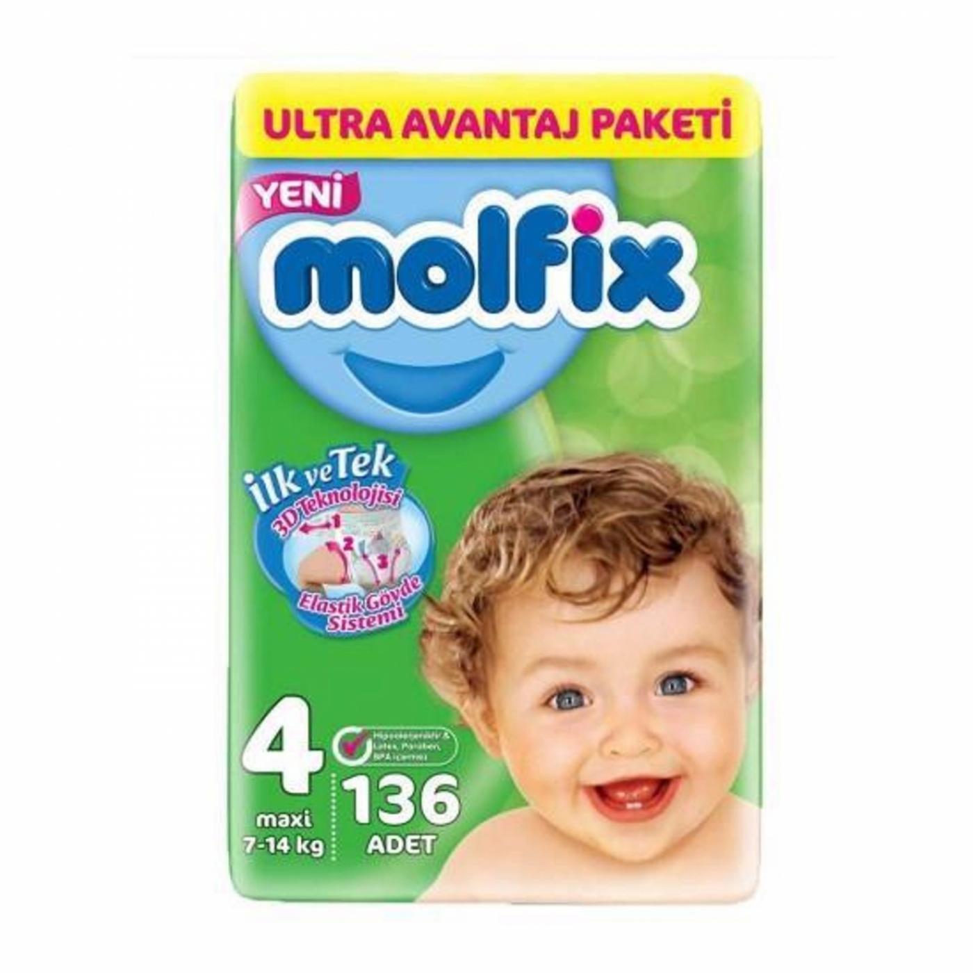 MOLFİX ULTRA AVANTAJ PAKETİ (4) 136LI