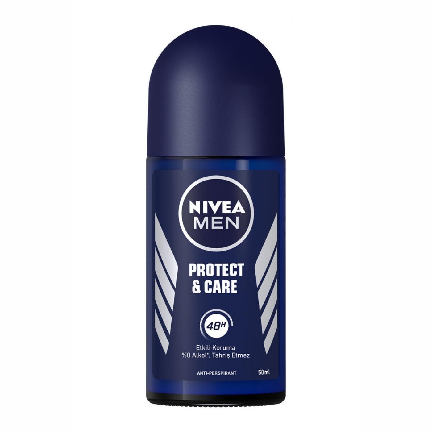 NİVEA DEO.ROLL-ON 50ML MEN PROTECT&CARE