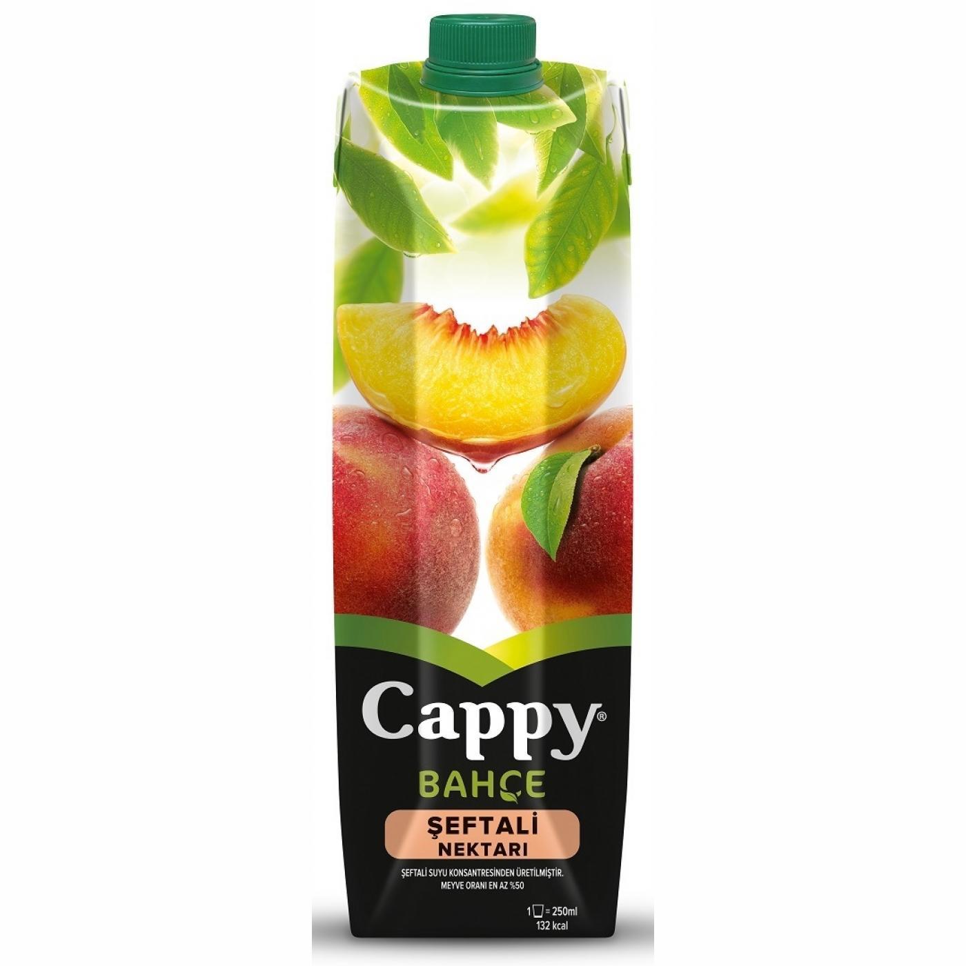 CAPPY 1LT KLS. ŞEFTALİ