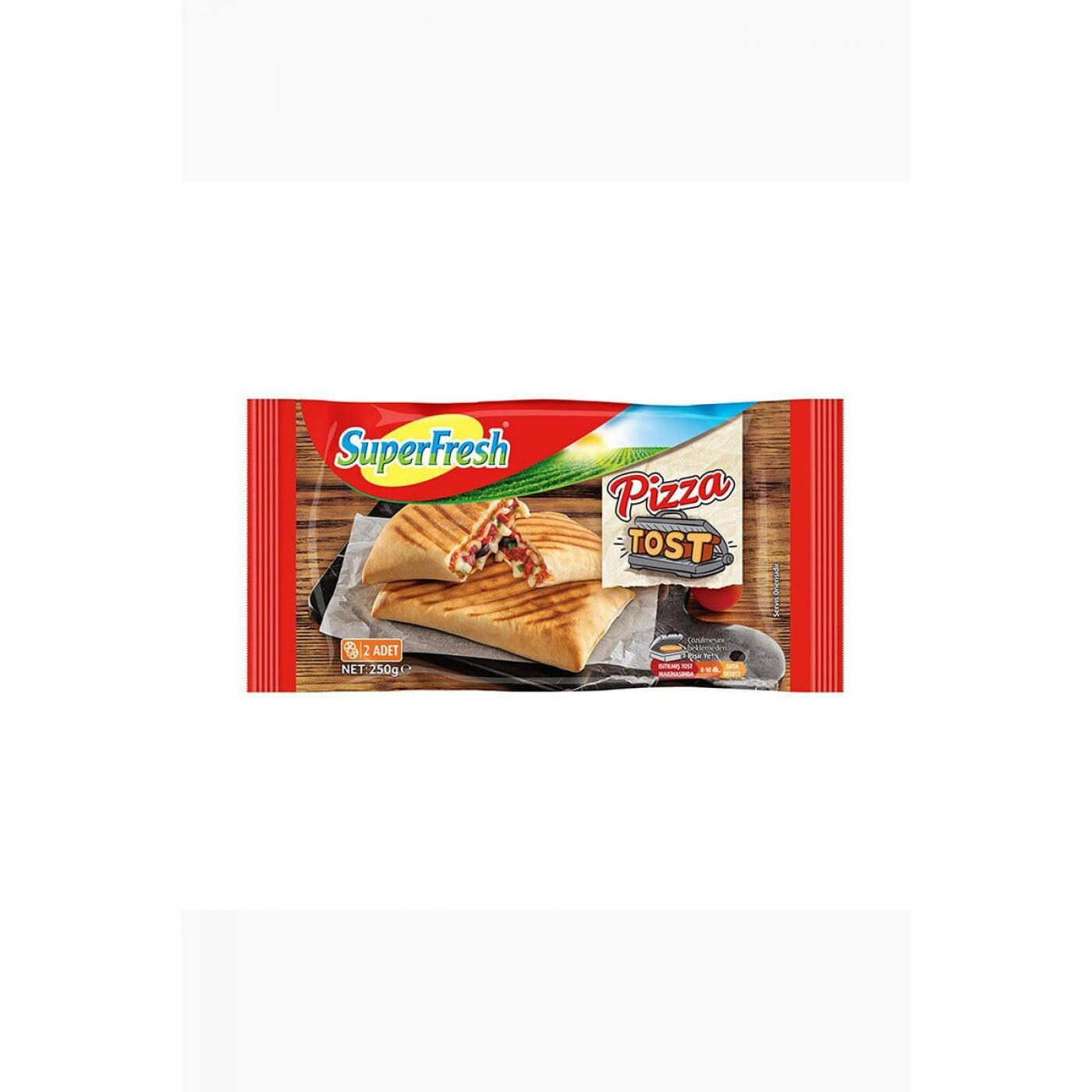 SUPERFRESH TOST PİZZA 250GR