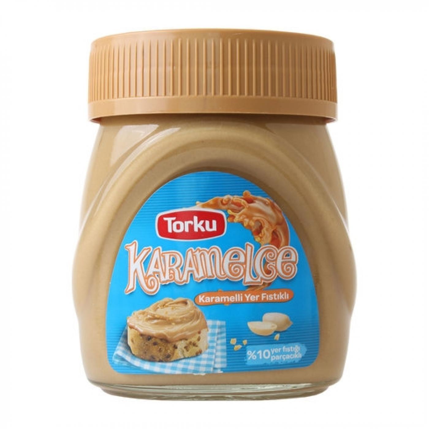 TORKU KARAMELCE YER FISTIKLI KREMA 400GR