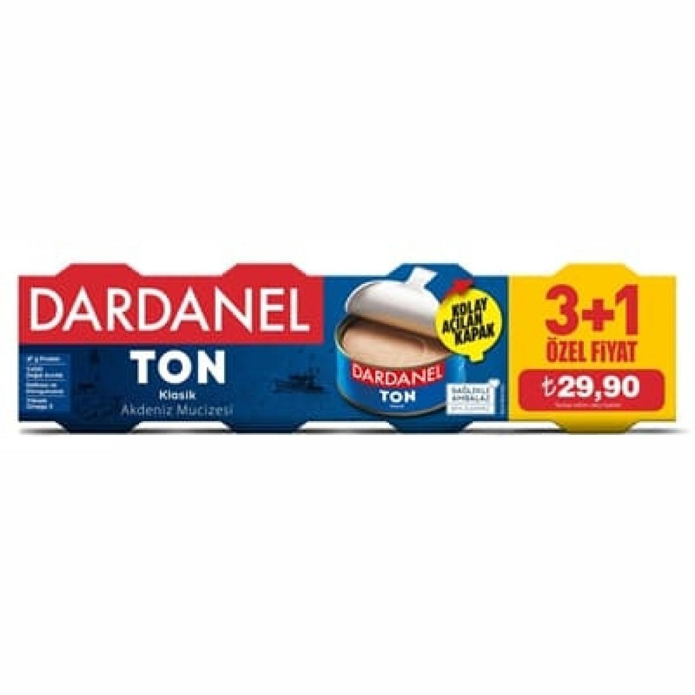 DARDANEL TON BALIĞI 75GR*4
