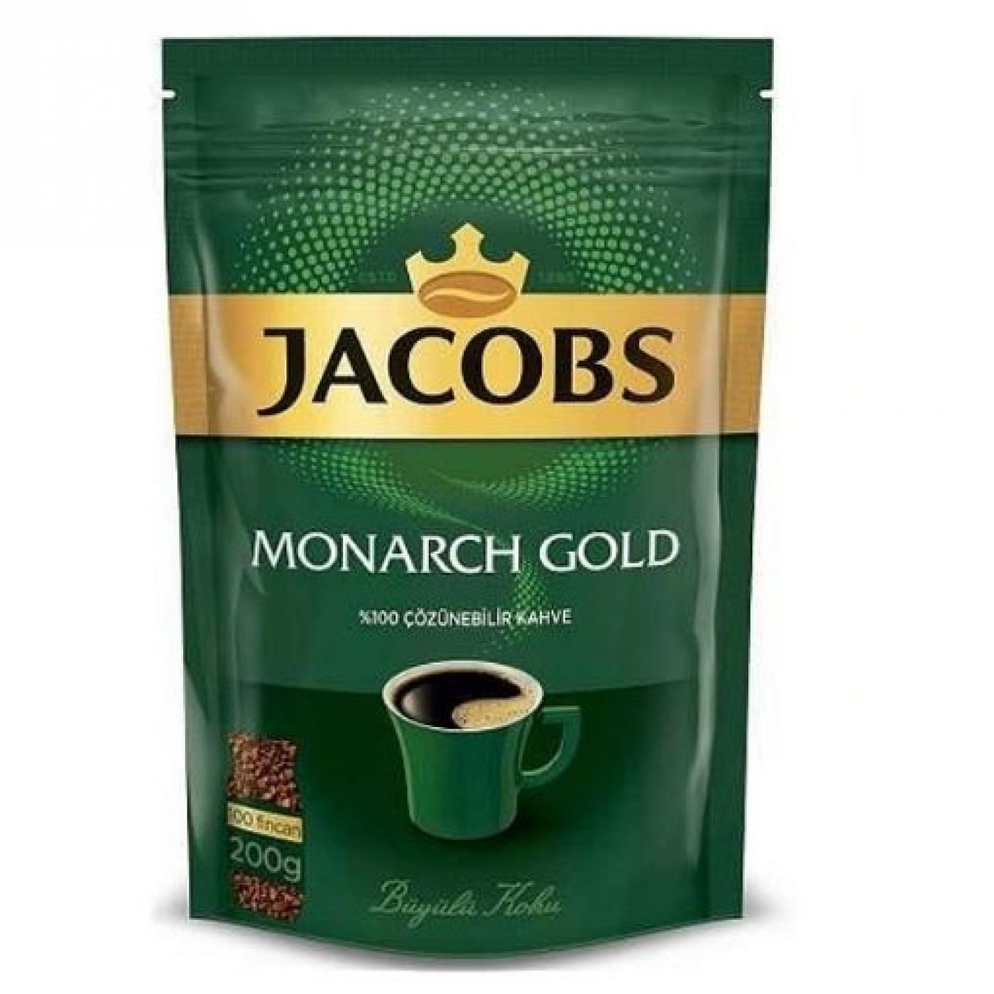 JACOBS MONARCH GOLD EKO PAKET 200GR