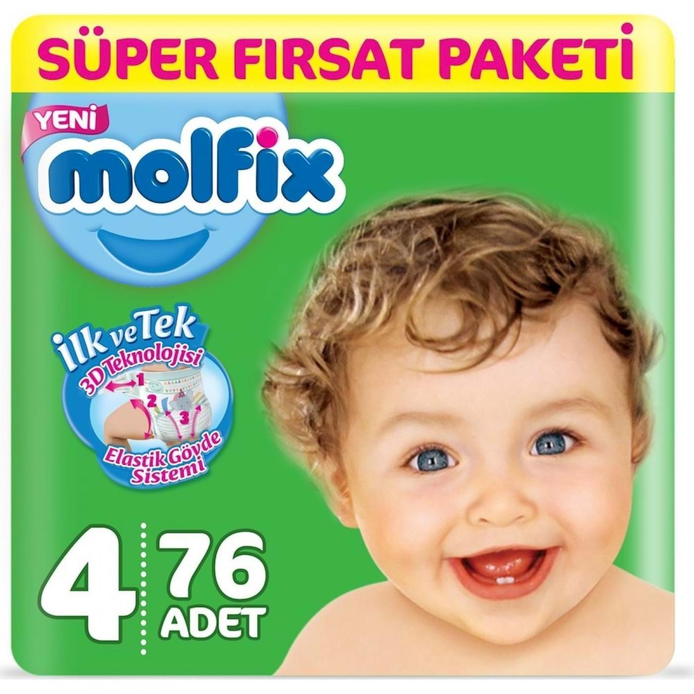 MOLFİX SÜPER F.PAKETİ MAXI 76LI