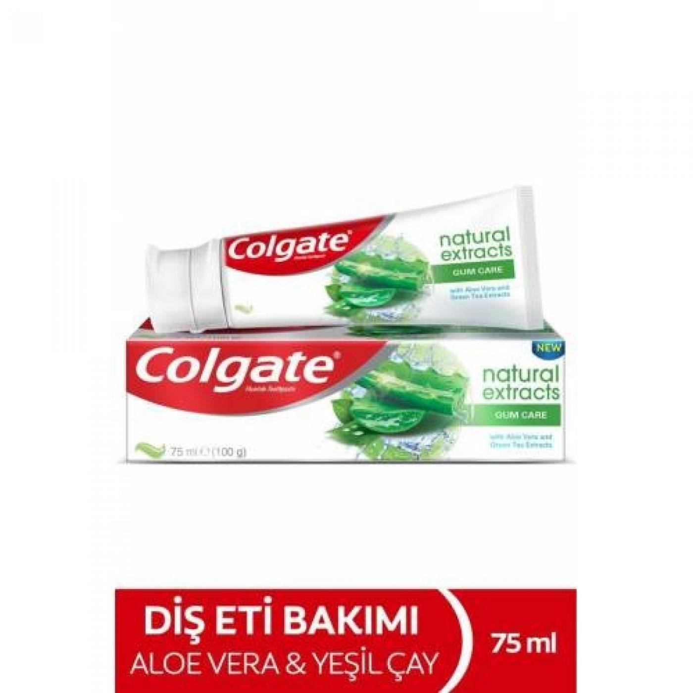 COLGATE DİŞ MACUNU NATUREL EXT.GUM 75ML