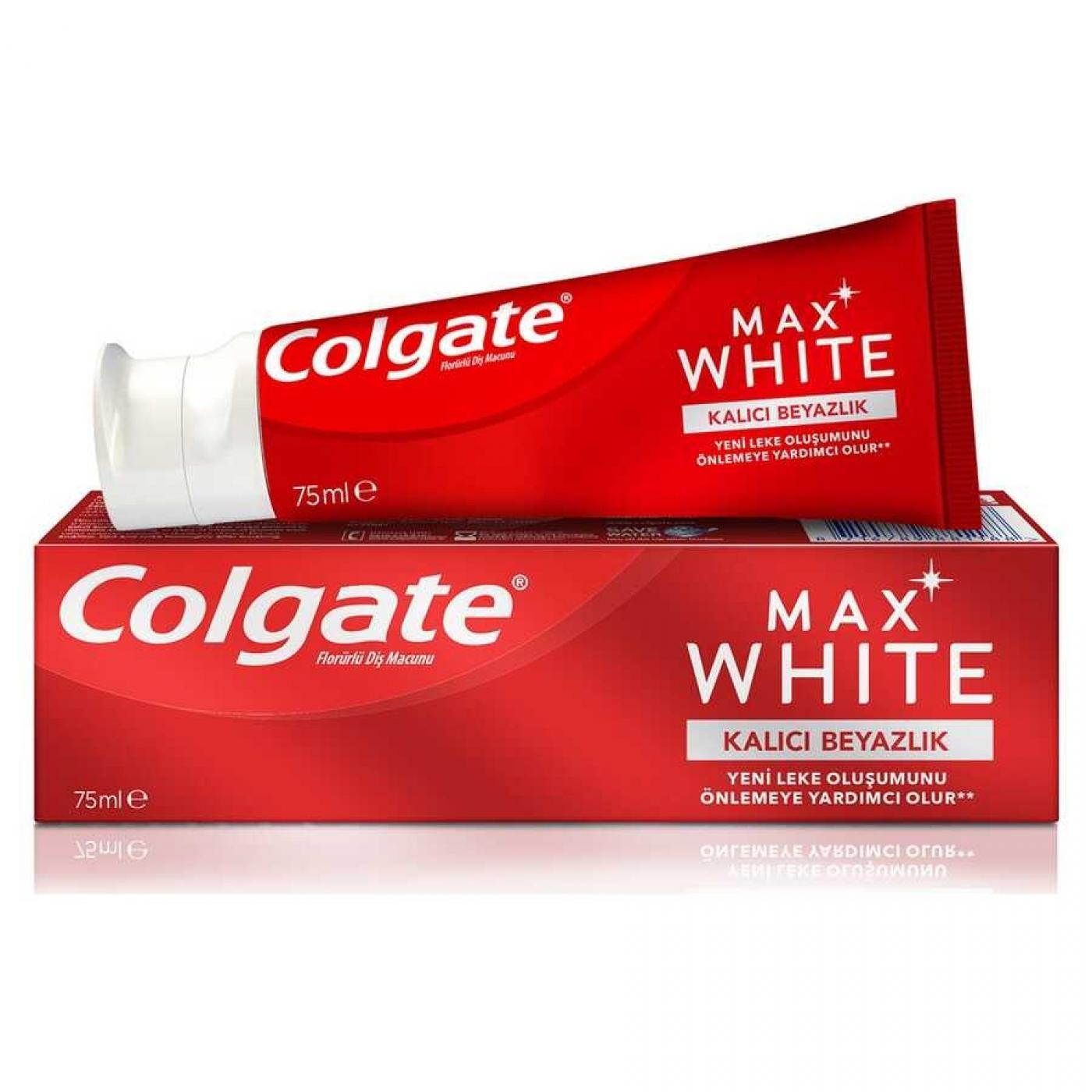 COLGATE DİŞ MACUNU NATUREL EXT.WHITE 75ML