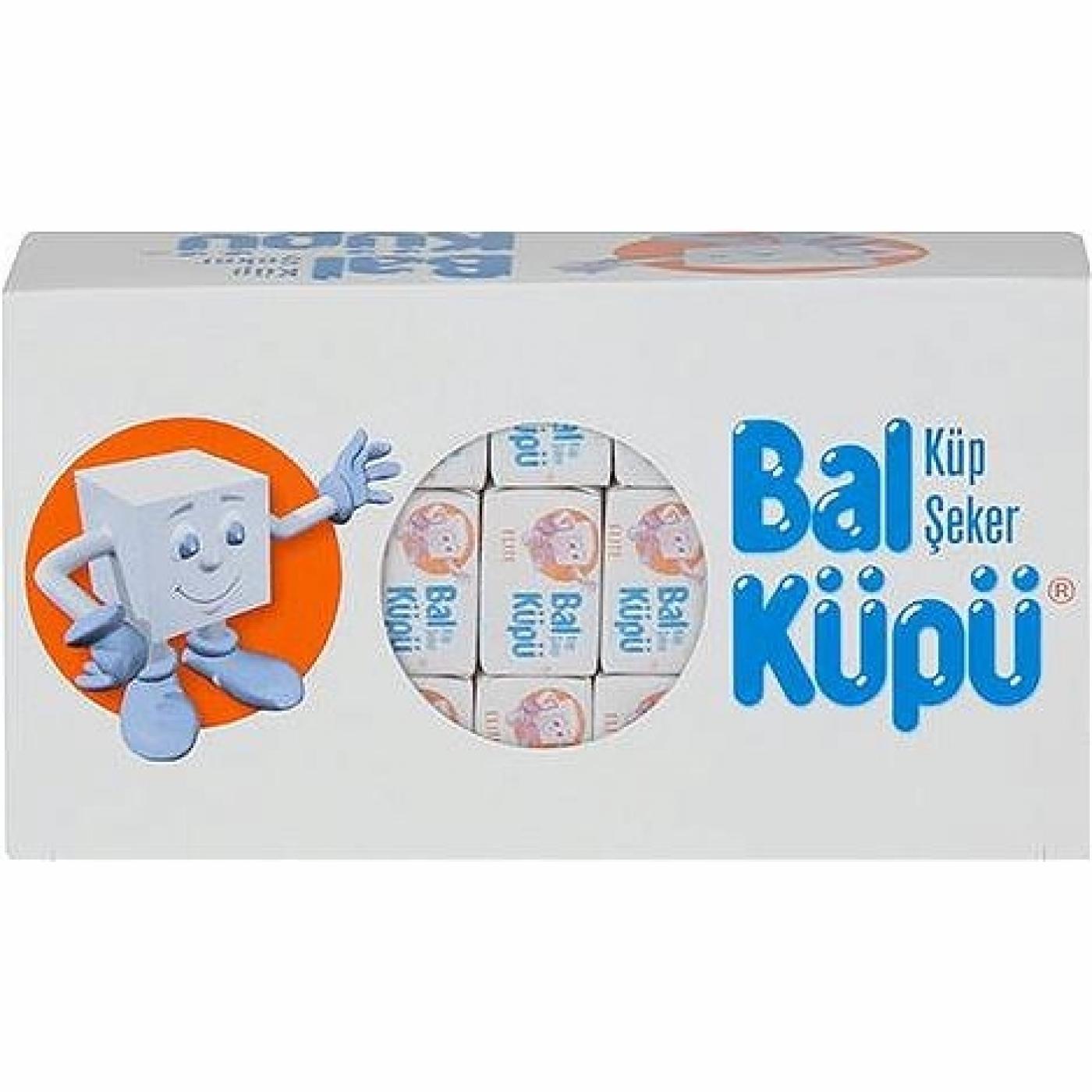 BALKÜPÜ KÜP ŞEKER SARGILI 750GR