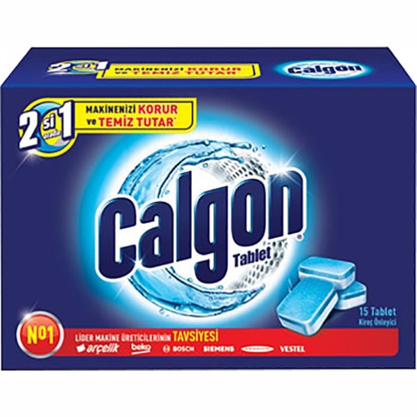 CALGON TABLET 15Lİ