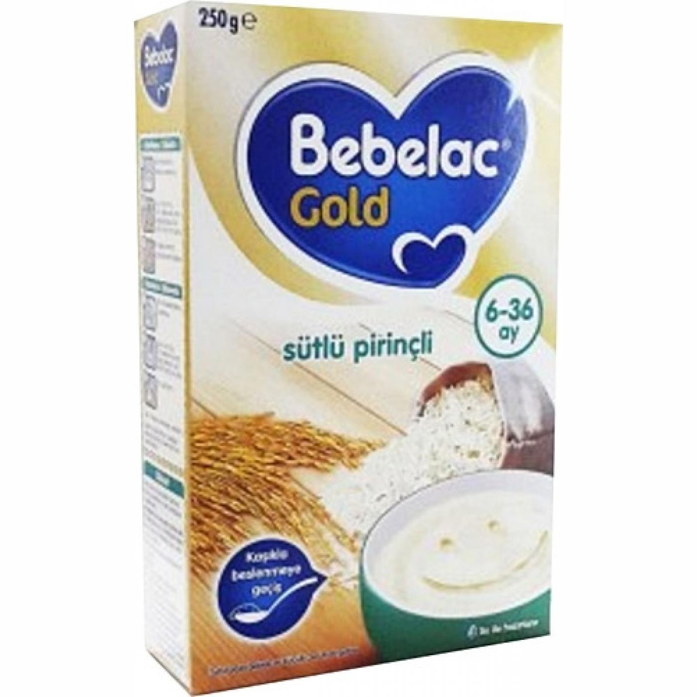 BEBELAC GOLD 250GR SÜTLÜ PİRİNÇLİ