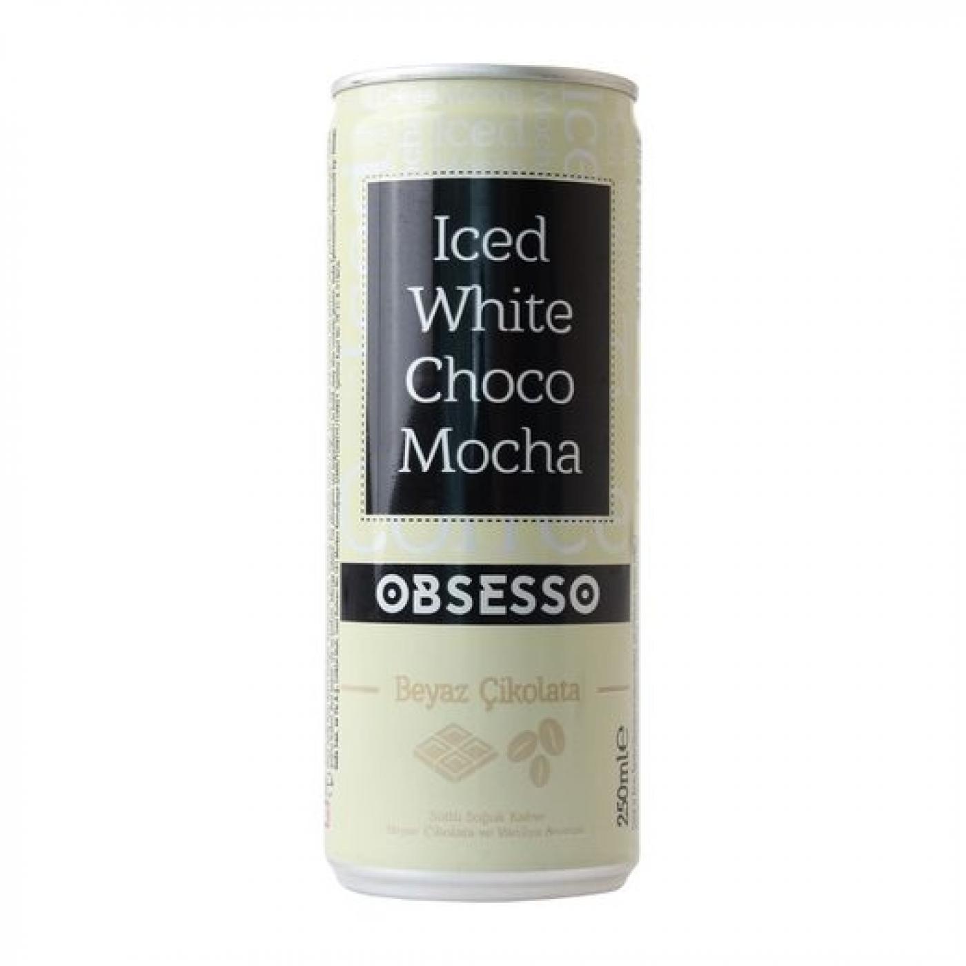 OBSESSO SOĞUK KAHVE 250ML WHITE CHOCO