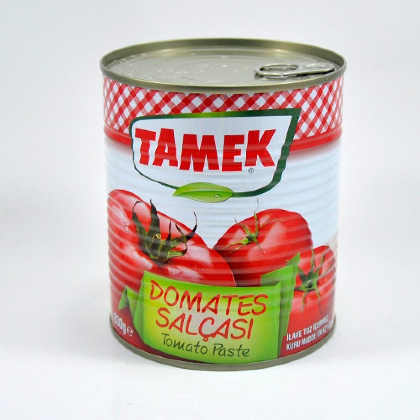 TAMEK DOMATES SALÇASI TNK 830GR