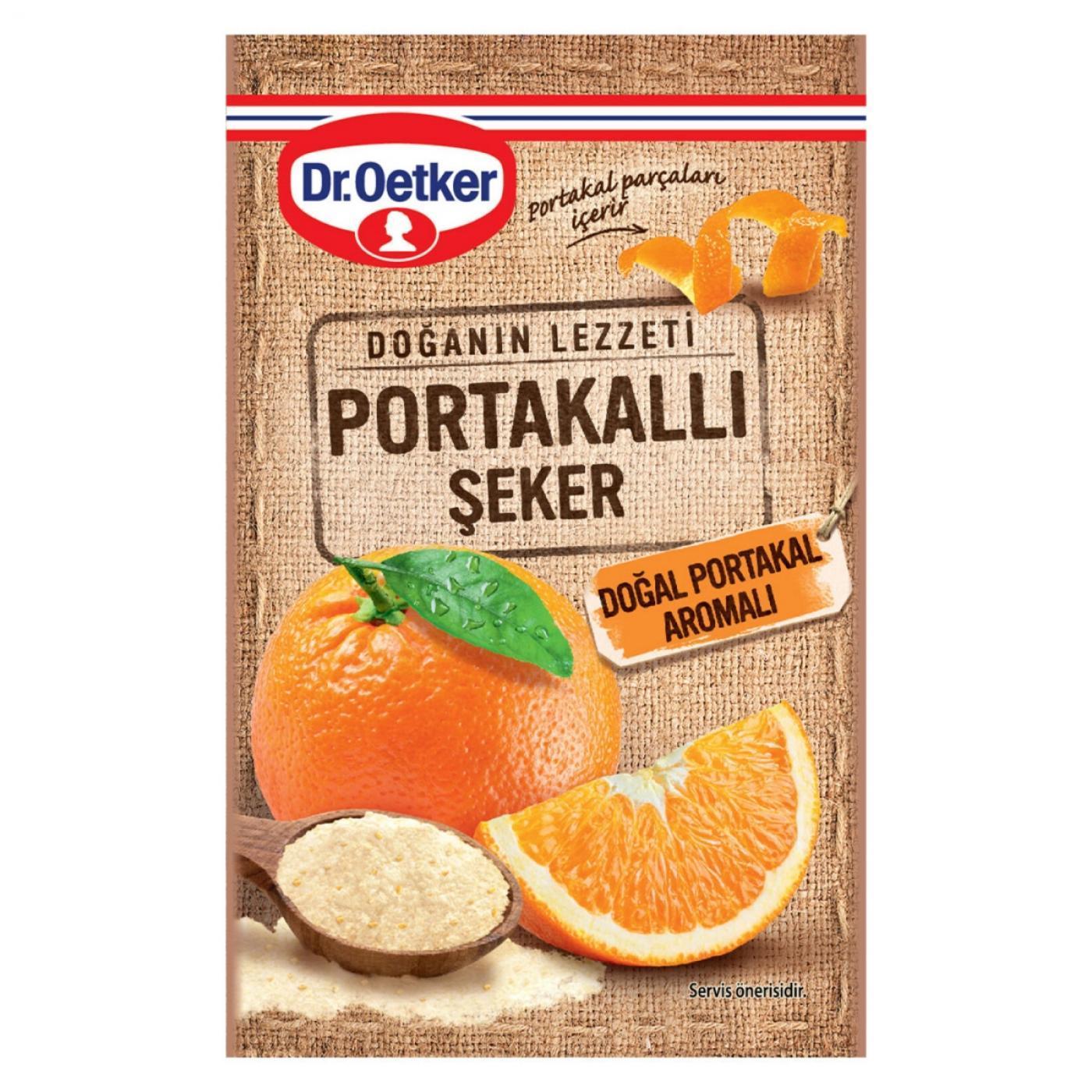 DR.OETKER PORTAKALLI ŞEKER 14GR
