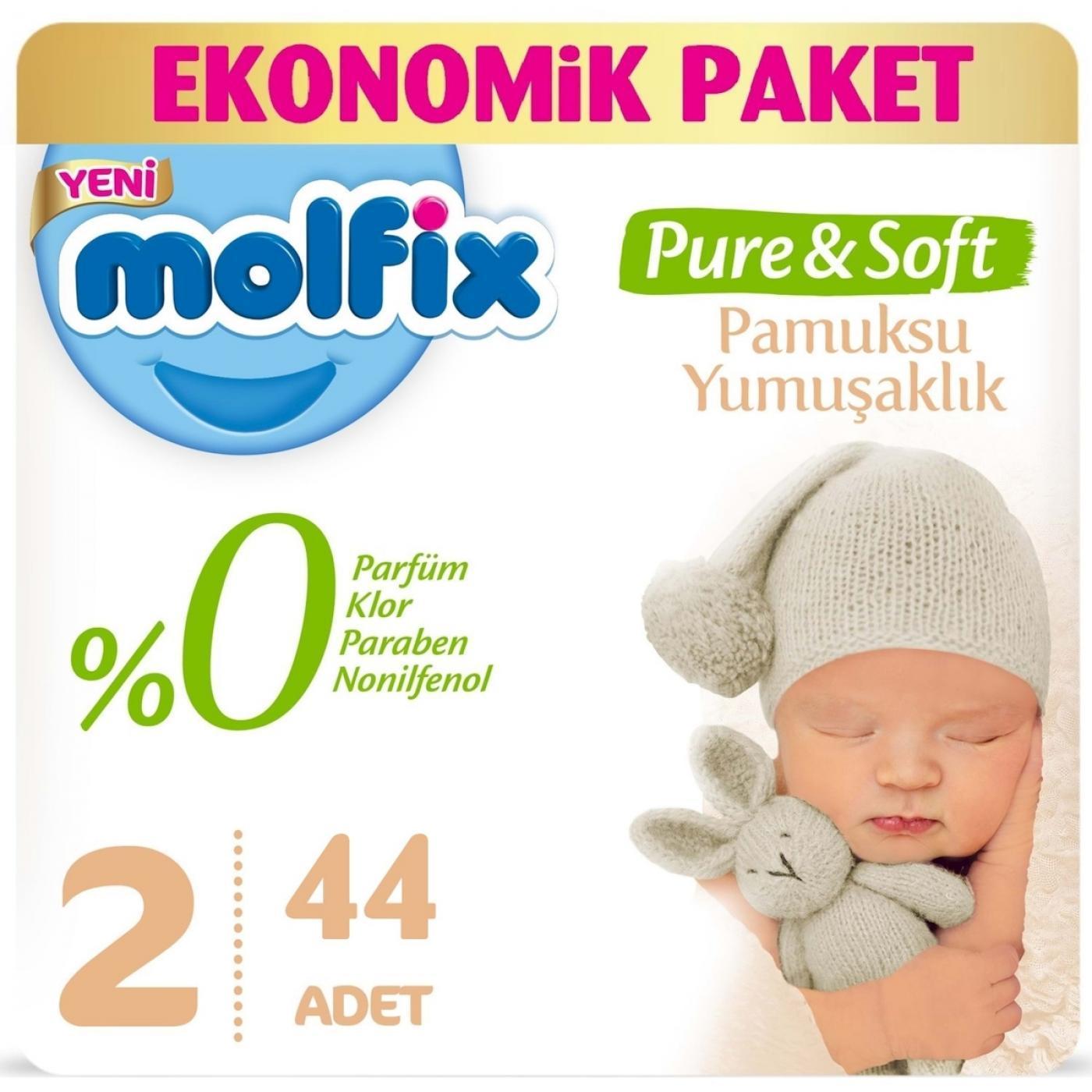 MOLFİX EKONOMİK PURE&SOFT MİNİ 44LÜ