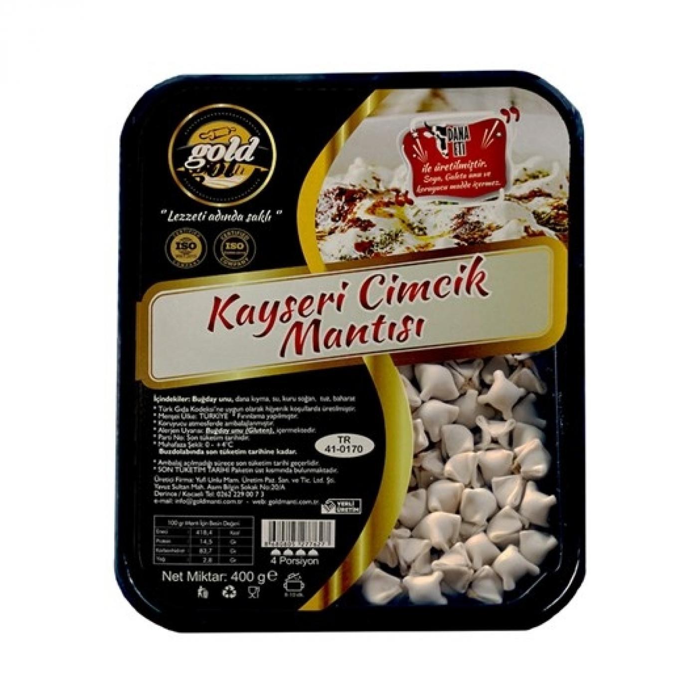 YUFİ GOLD KAYSERİ CİMCİK MANTISI 400GR