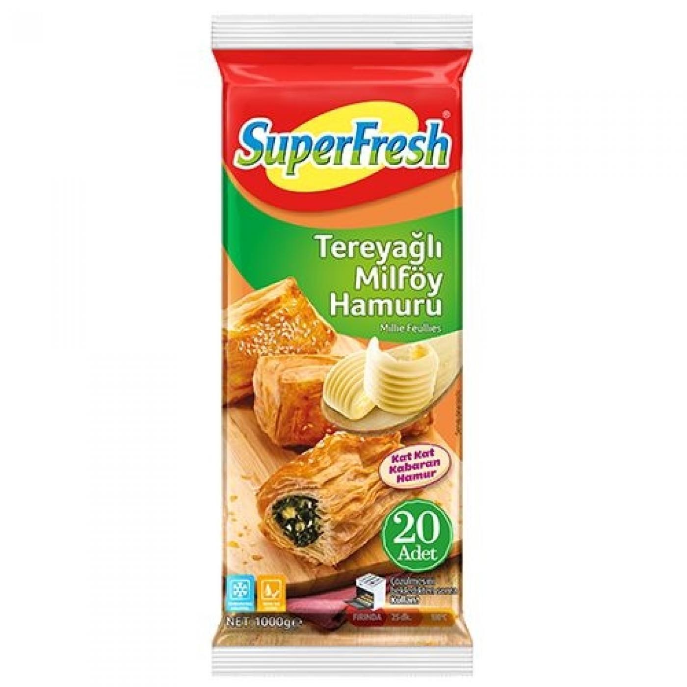SUPERFRESH MİLFÖY(TEREYAĞLI) 1000GR