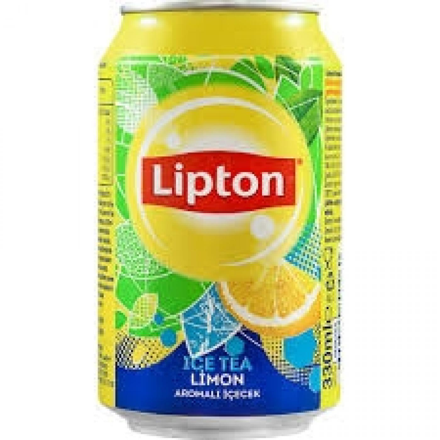 LIPTON SOĞUK ÇAY 330ML LİMON