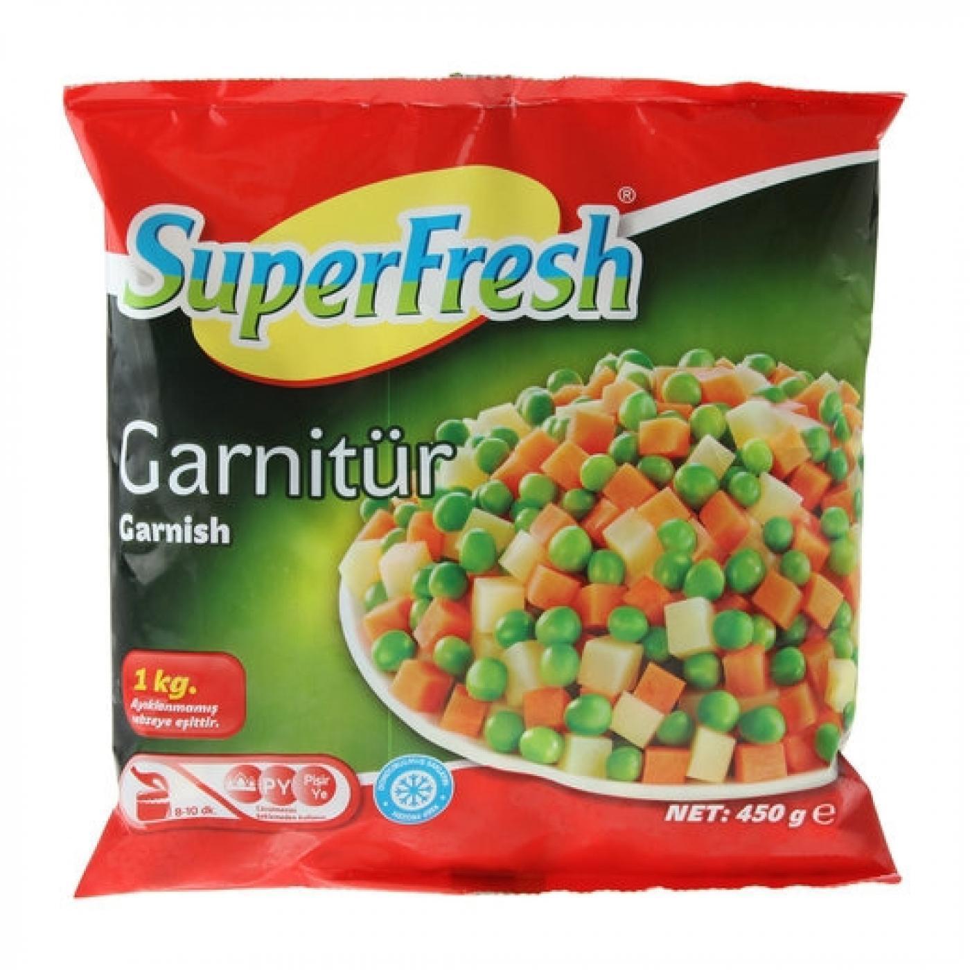 SUPERFRESH GARNİTÜR 450GR