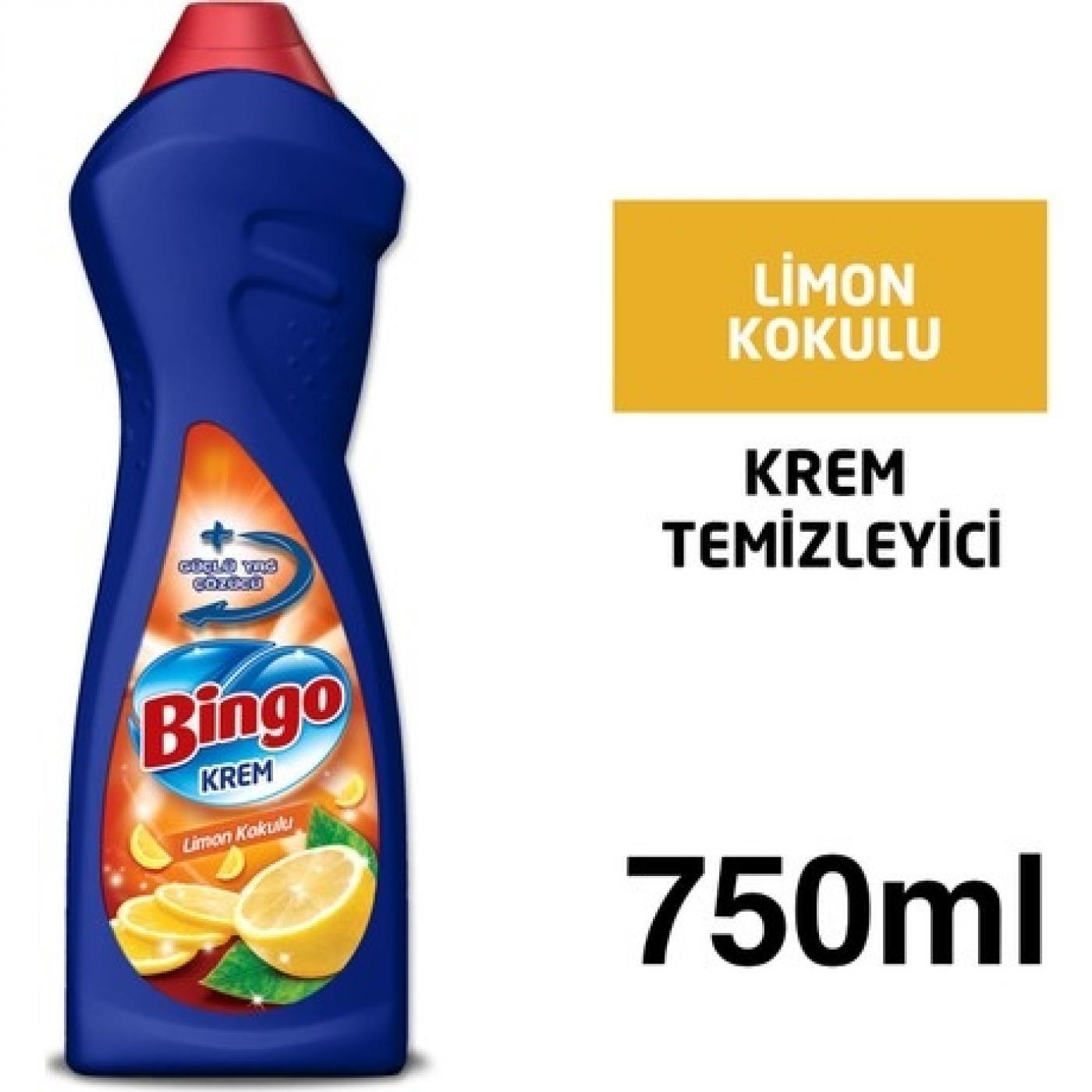 BİNGO KREM 750ML LİMON