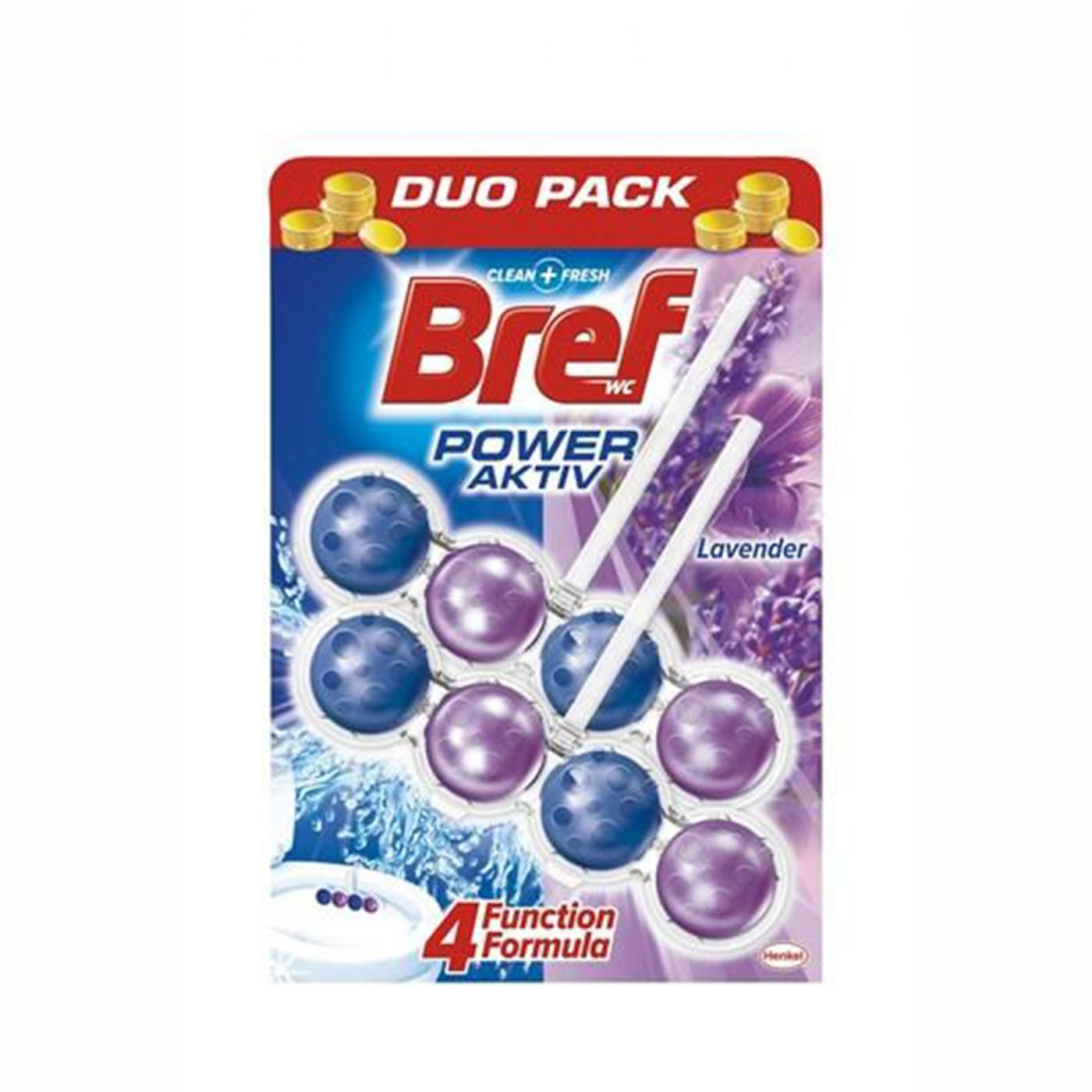 BREF POWER AKTİF 2*50GR DUO PACK 8Lİ LAVANTA