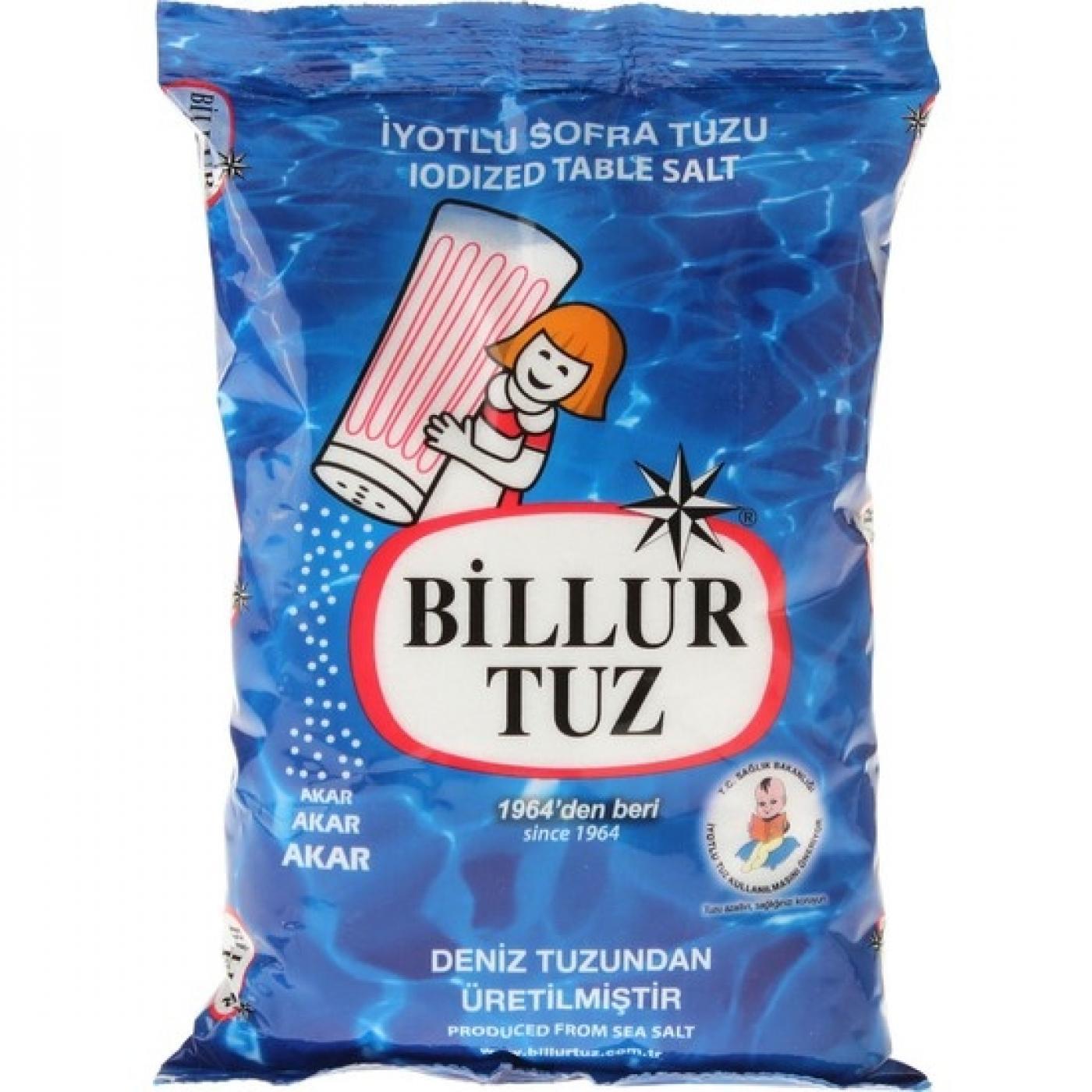 BİLLUR TUZ 750GR