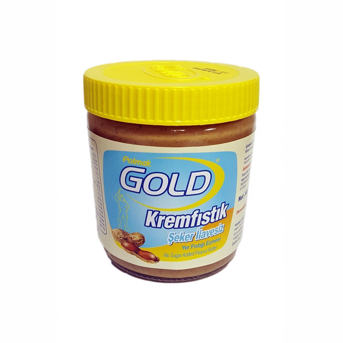 GOLD 340GR KREM FISTIK ŞEKER İLAVESİZ