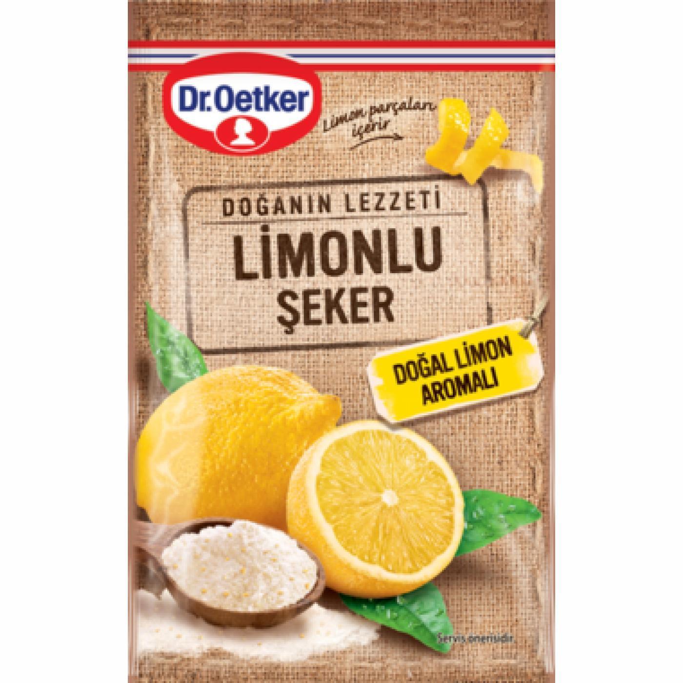 DR.OETKER LİMONLU ŞEKER 14GR