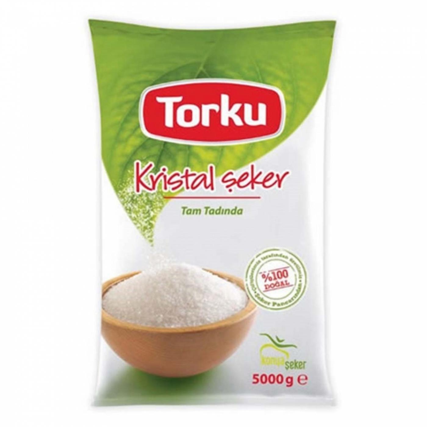 TORKU TOZ ŞEKER POŞET 5KG