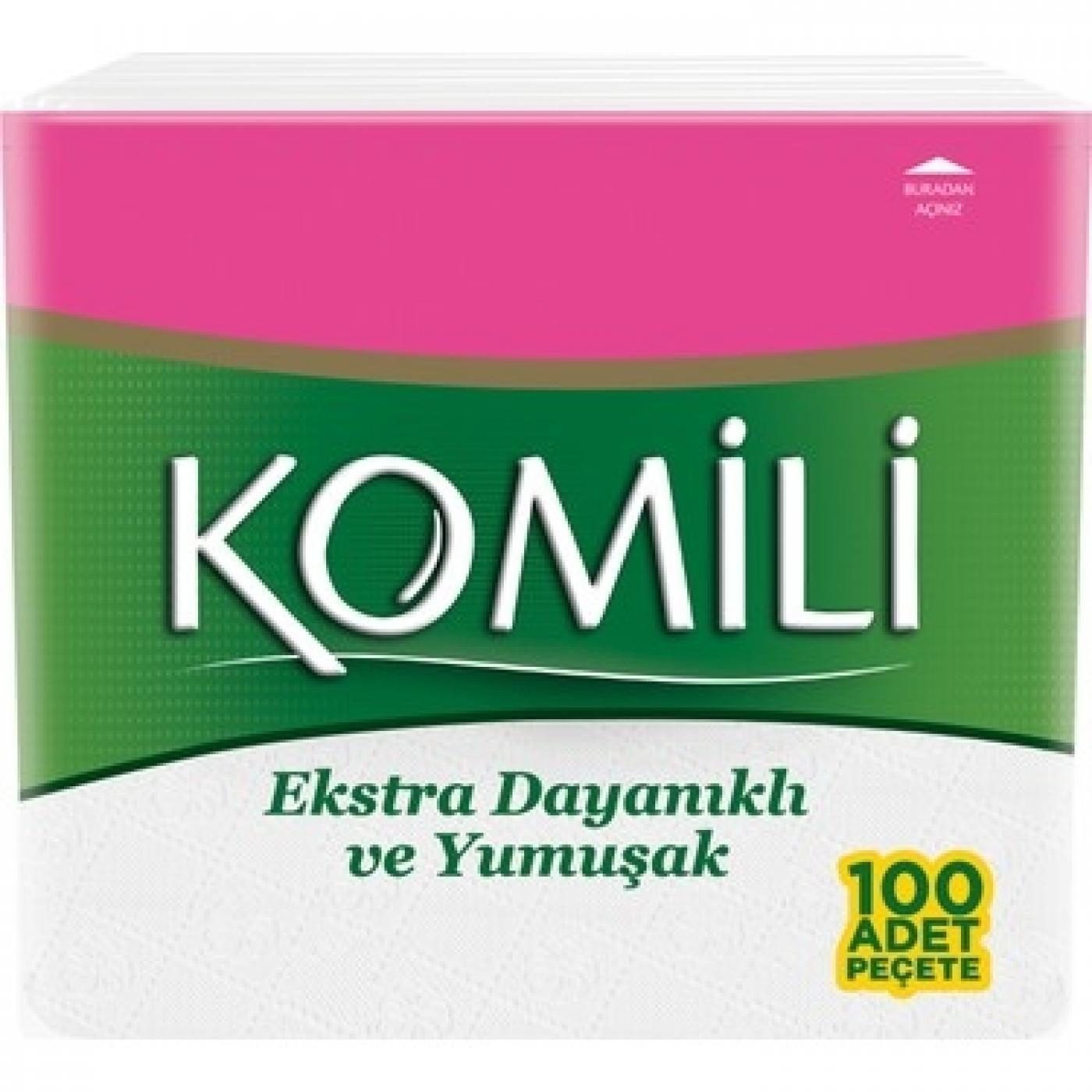 KOMİLİ PEÇETE 100LÜ
