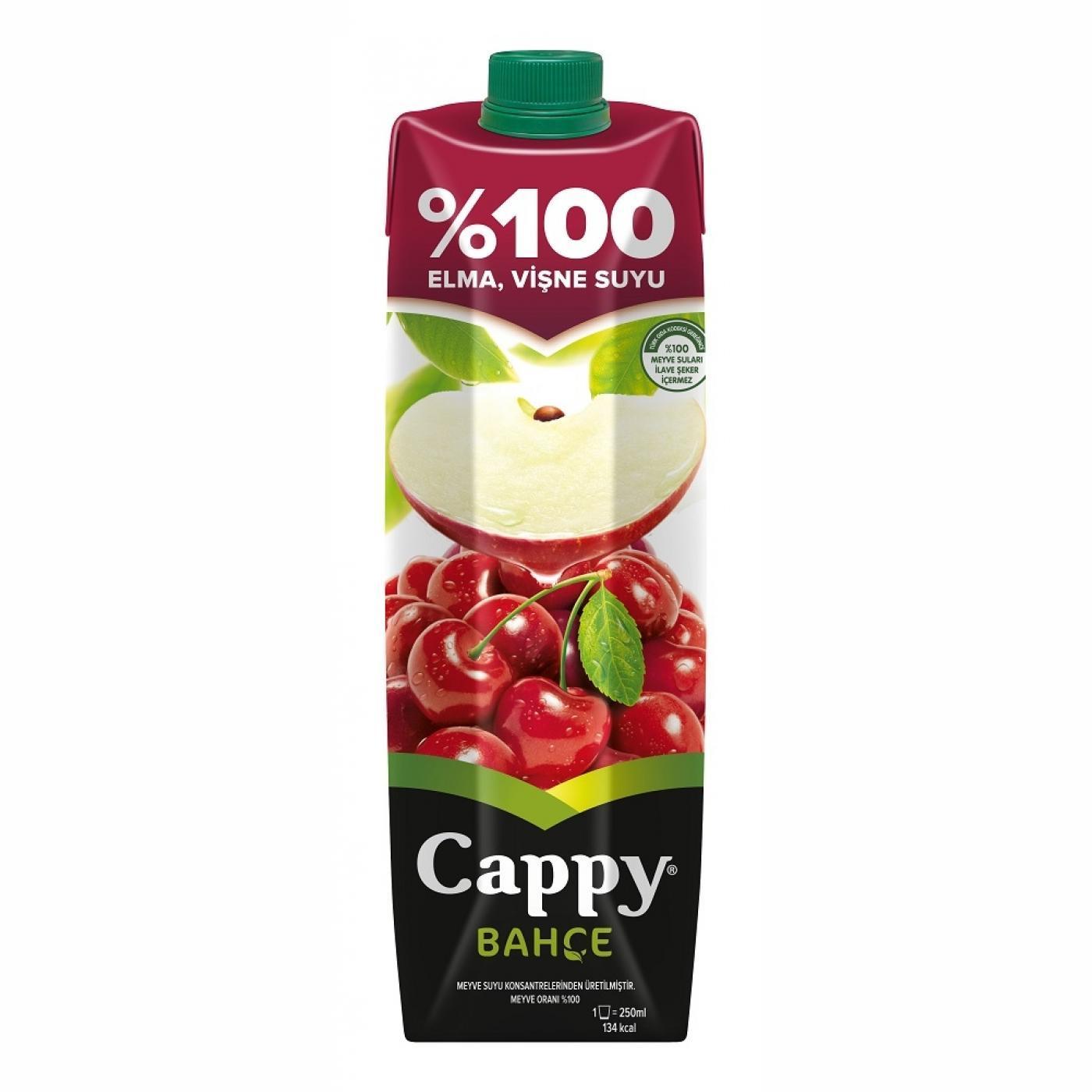 CAPPY 1LT %100 ELMA-VİŞNE