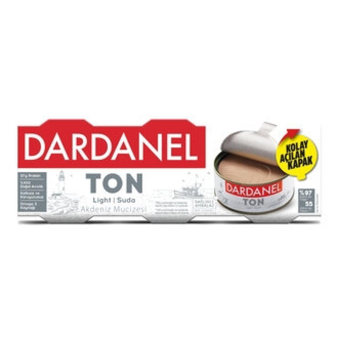 DARDANEL TON BALIĞI 75GR LIGHT 3LÜ
