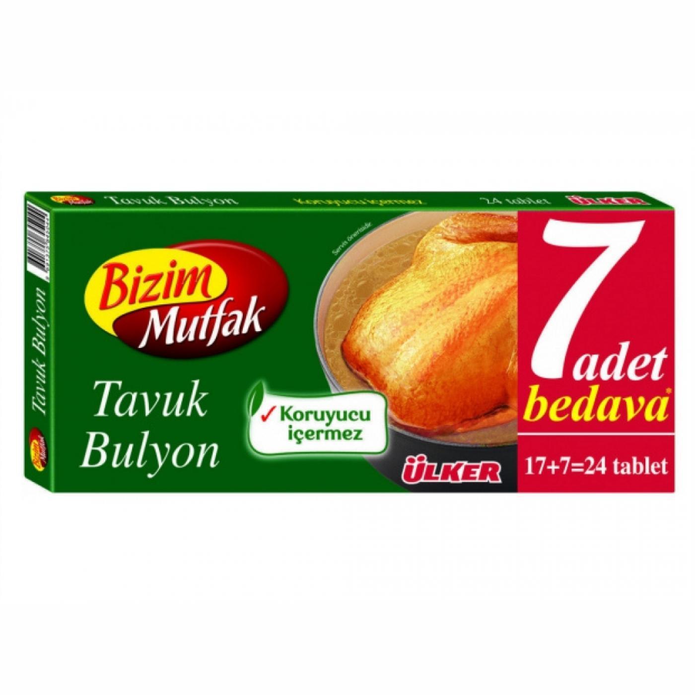 BİZİM BULYON 24LÜ TAVUK
