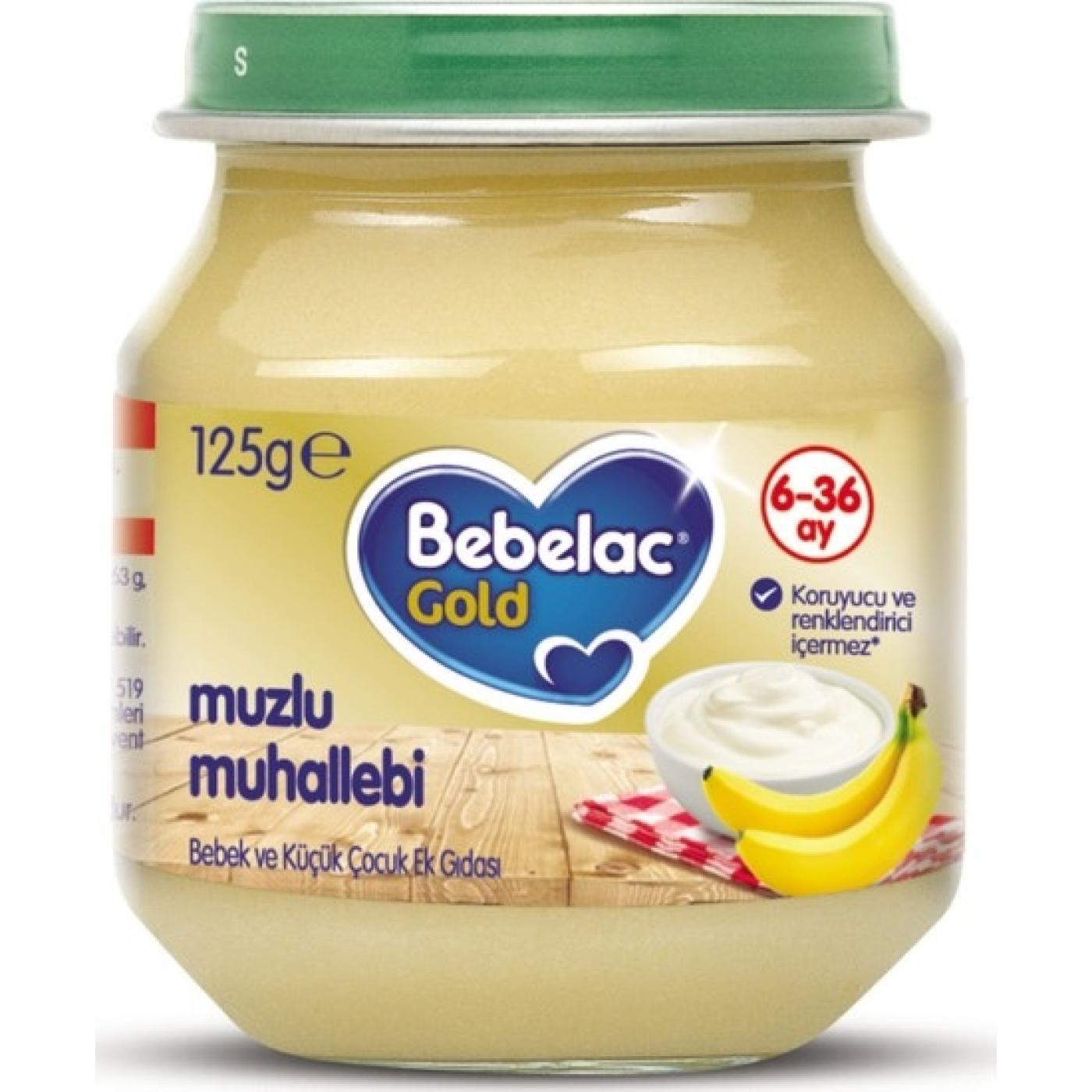 BEBELAC GOLD 125GR MUZLU MUHALLEBİ