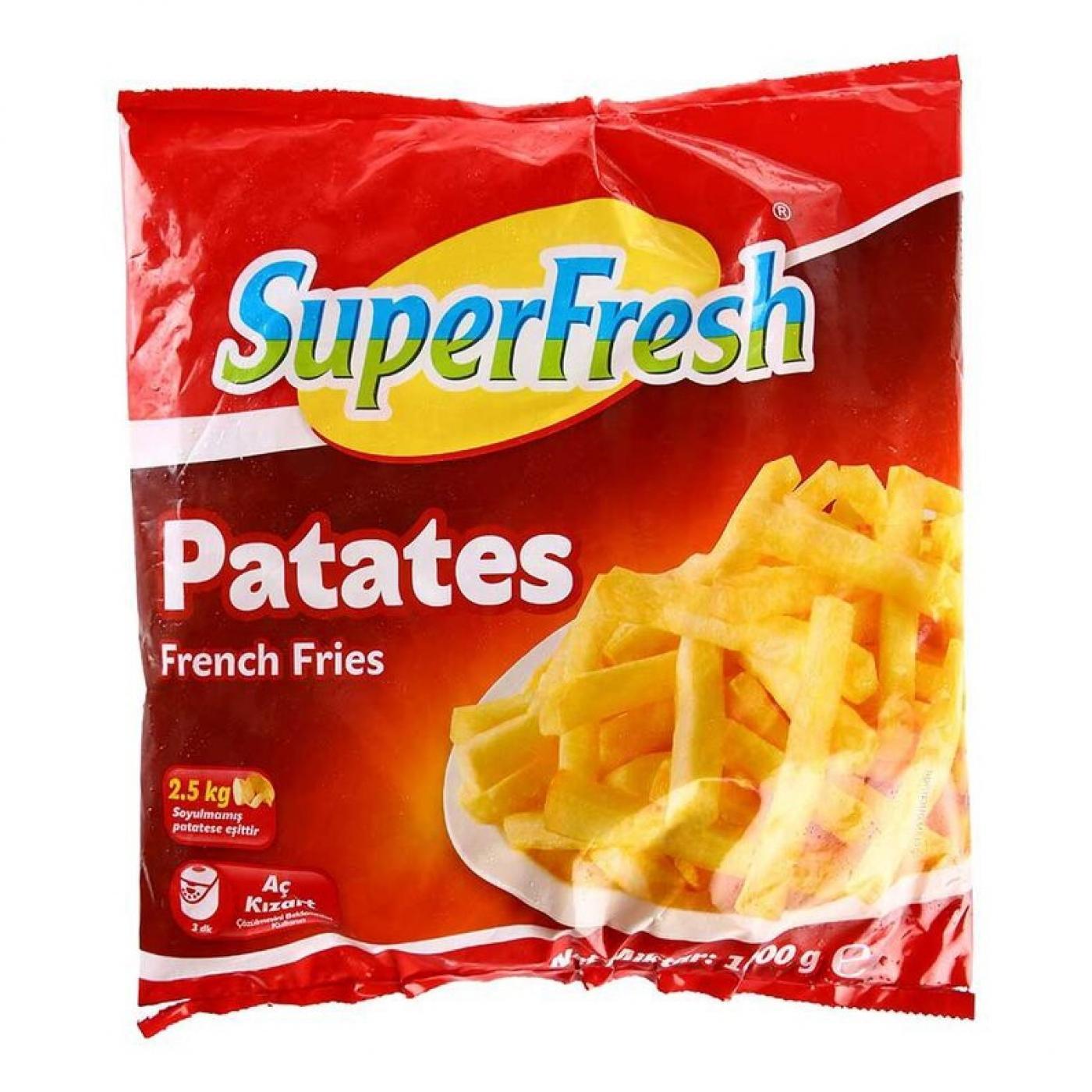 SUPERFRESH PATATES 1KG