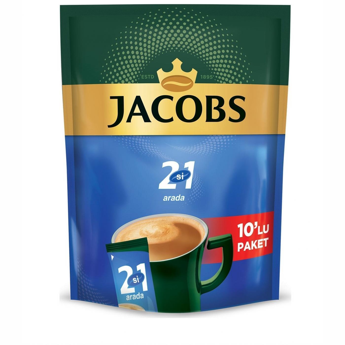 JACOBS 2 İN 1 ARADA 10LU PAKET