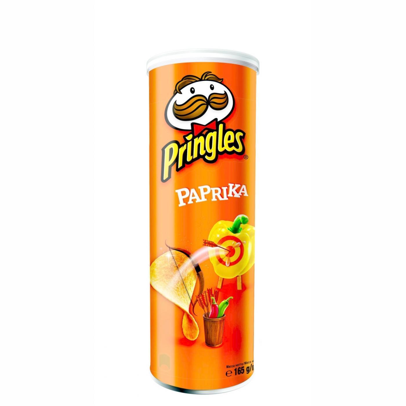 PRINGLES 165GR PAPRİKA