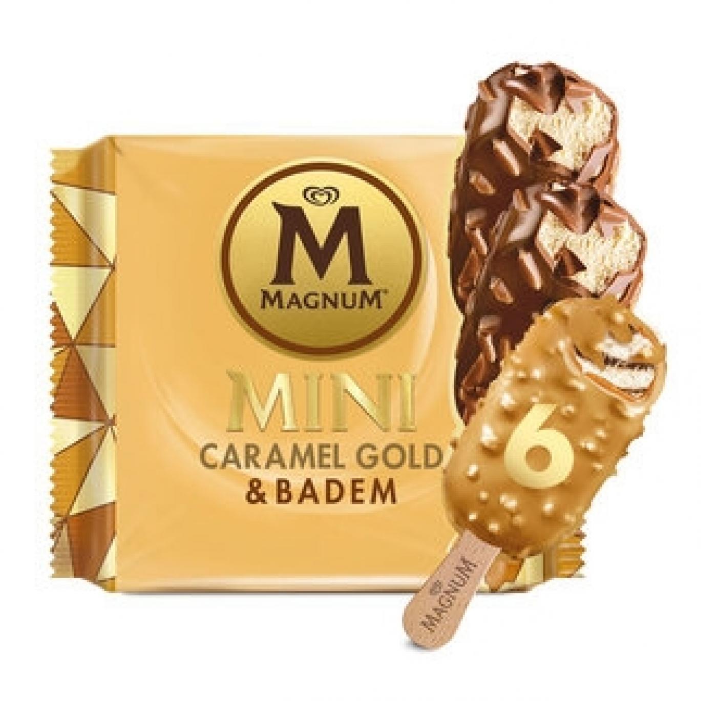 ALGİDA 345ML MAGNUM MİNİ BADEM KARAMEL GOLD