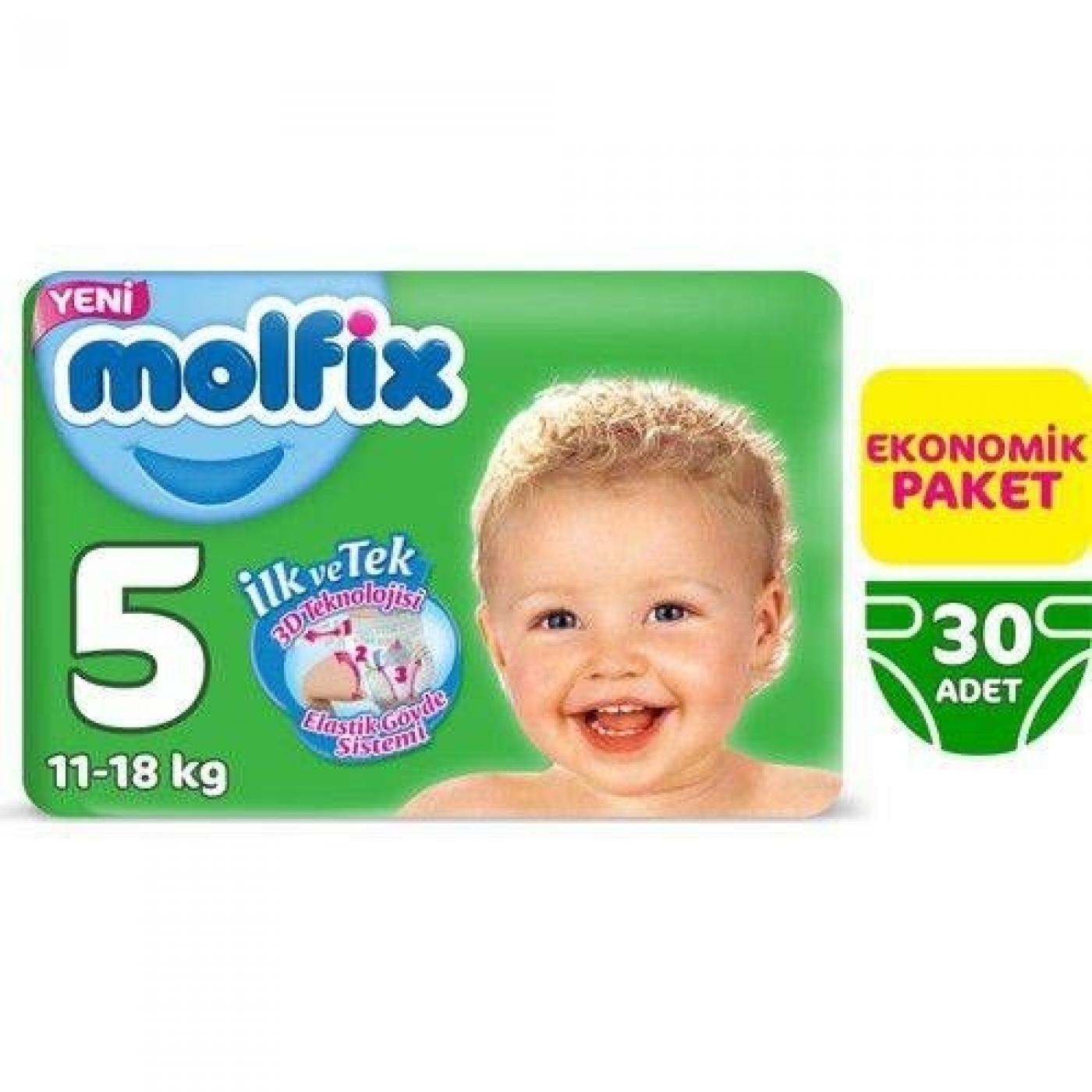 MOLFİX Bebek Bezi 5 Beden