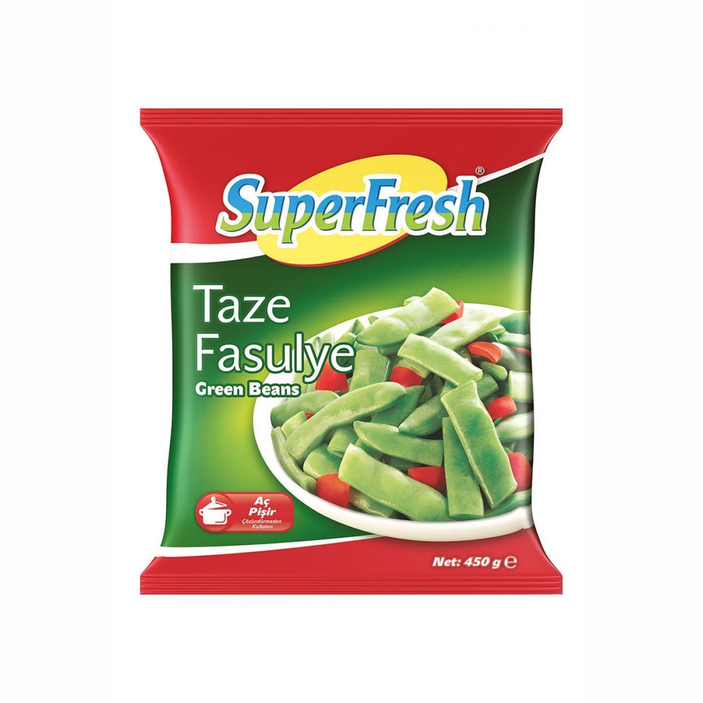 SUPERFRESH TAZE FASULYE 450GR