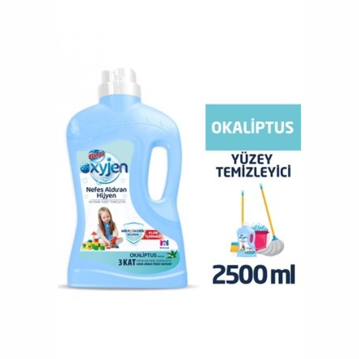 BİNGO OKSİJEN YÜZEY TEM. 2,5LT OKALİPUS