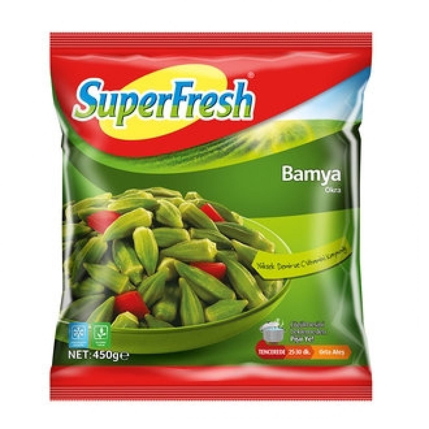 SUPERFRESH BAMYA 450GR