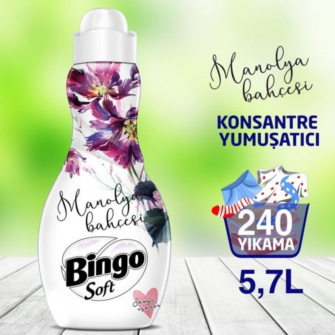 BİNGO SOFT KONS.1440ML MANOLYA BAHÇESİ