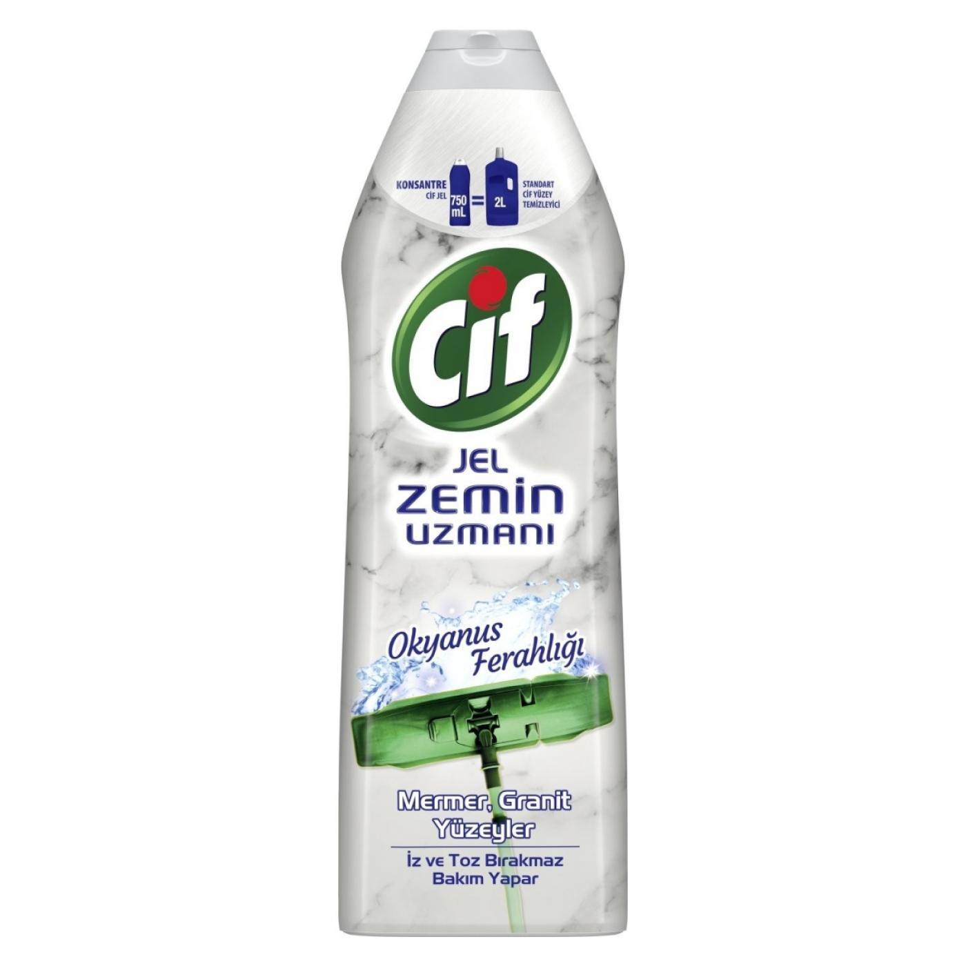 CİF JEL ZEMİN UZMANI 750ML MERMER& GRANIT