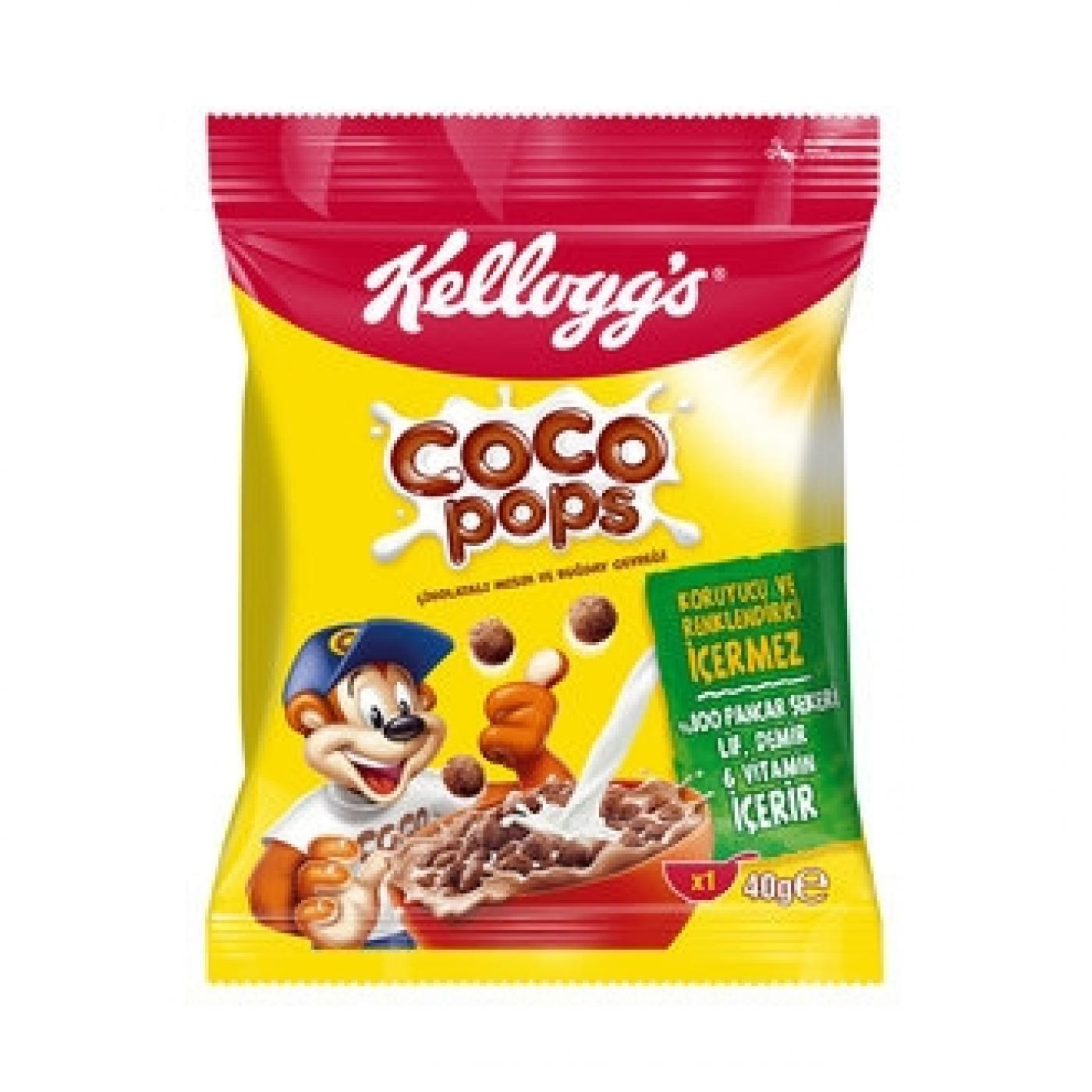 ÜLK.COCO POPS TOPLARI 40GR (2741-02)