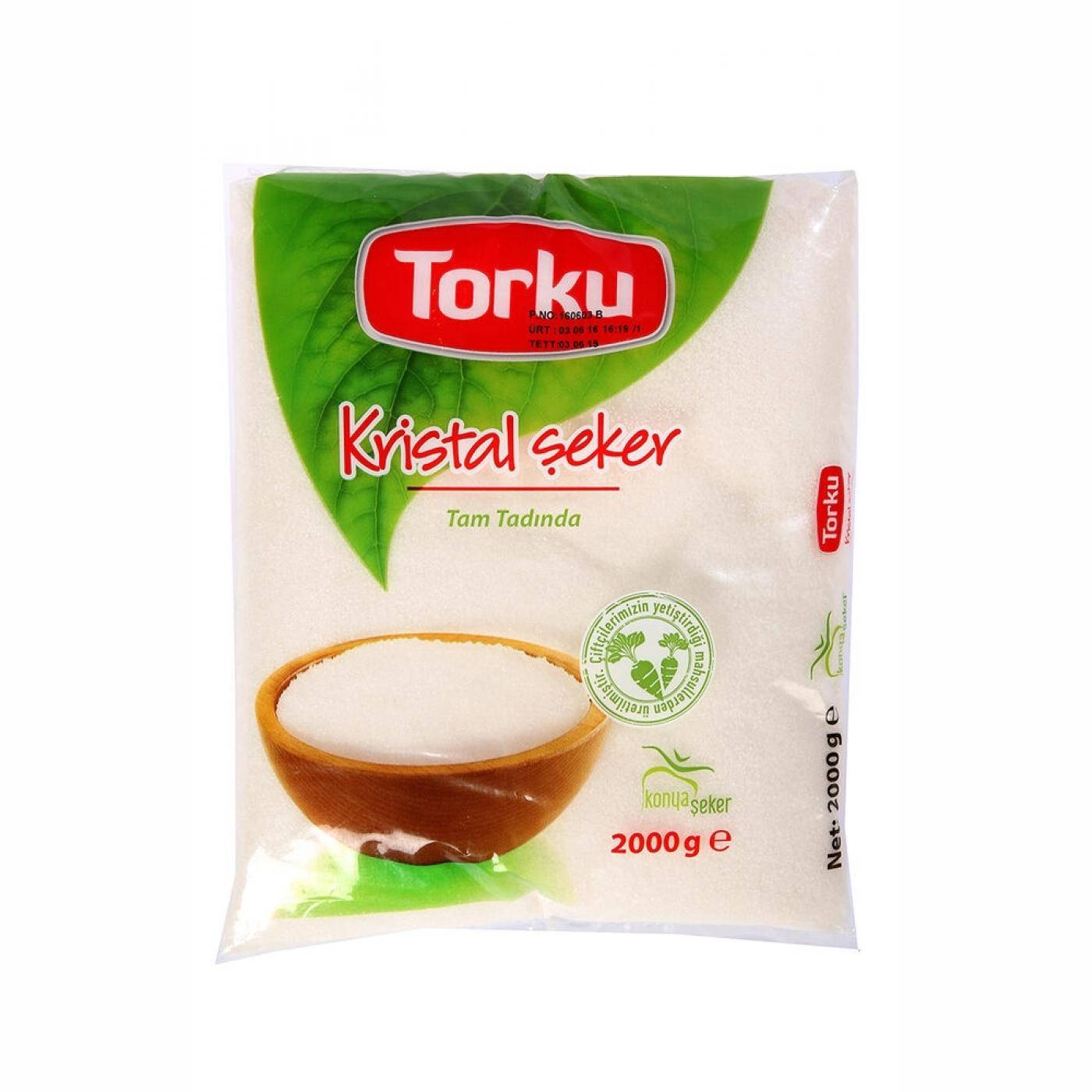 TORKU TOZ ŞEKER POŞET 2KG